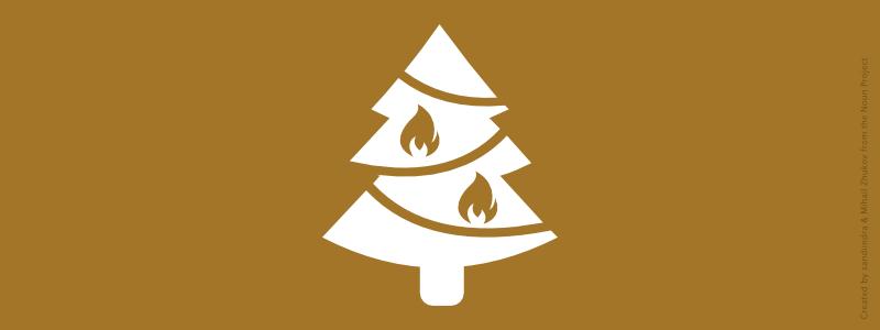 Hausratversicherung für Brandschäden an Weihnachten